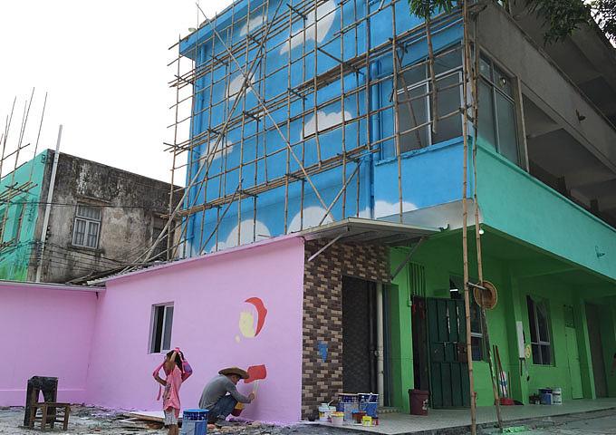 墙体彩绘公司