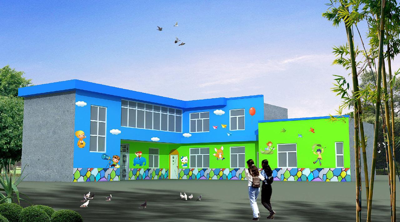 为什么要做幼儿园墙绘