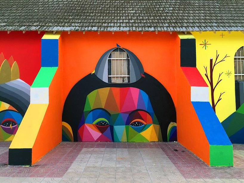 家居装修中3D壁画色彩的搭配方法