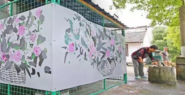 哪些场所适合张贴墙绘工作室的壁画产品?