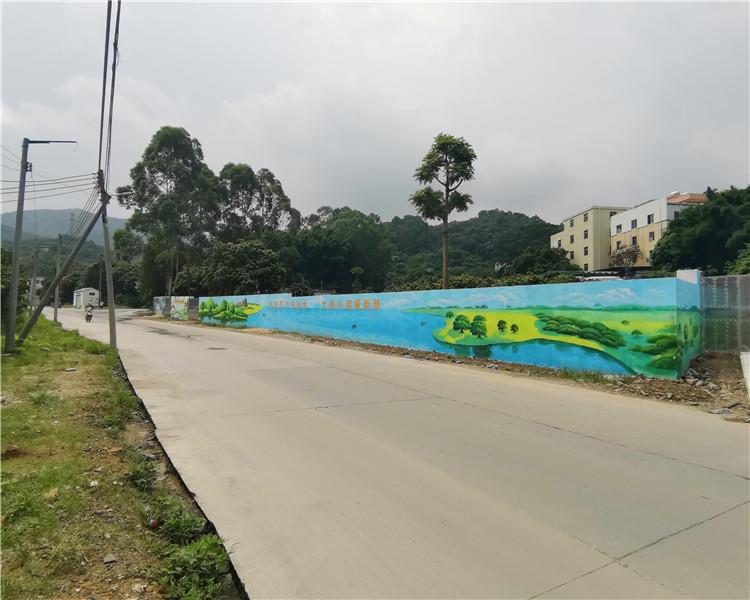 手绘墙画的方法步骤和与众不同的特色