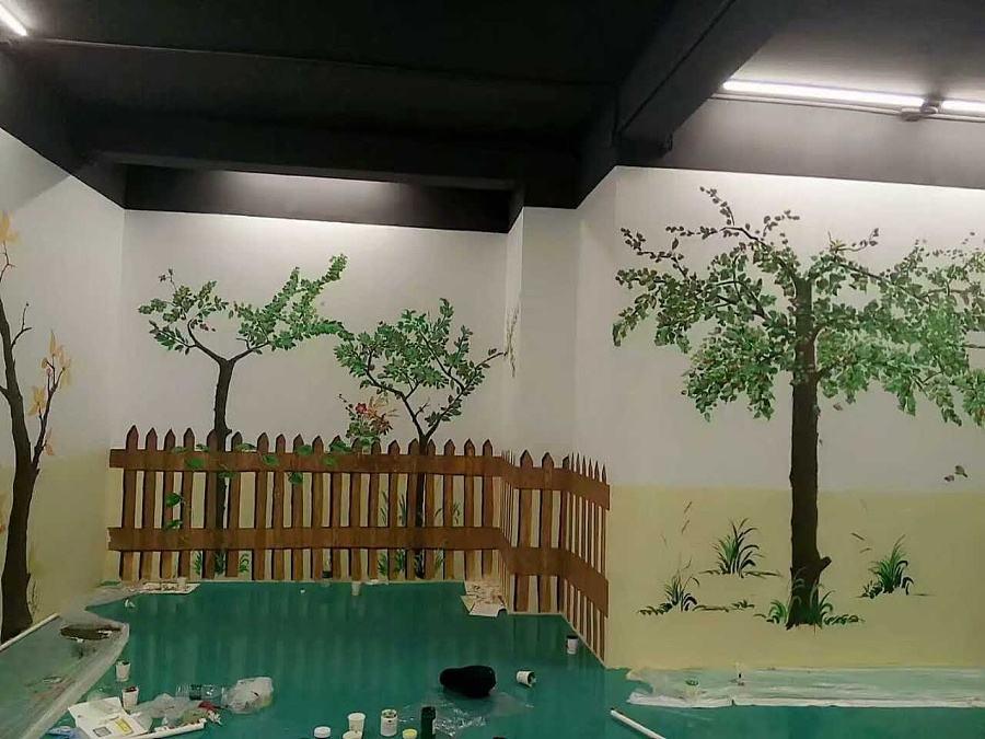 餐厅墙绘设计奥秘
