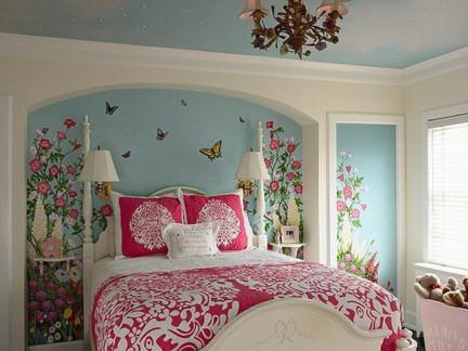 室内墙绘如何设计?