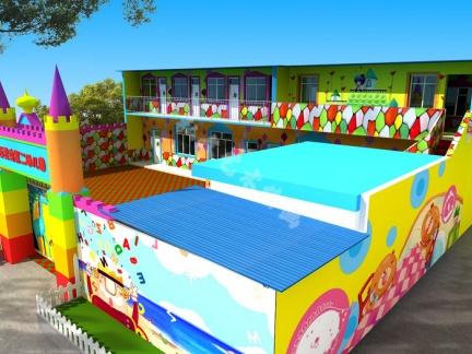 幼儿园墙壁画,一种更加新颖的艺术表现模式