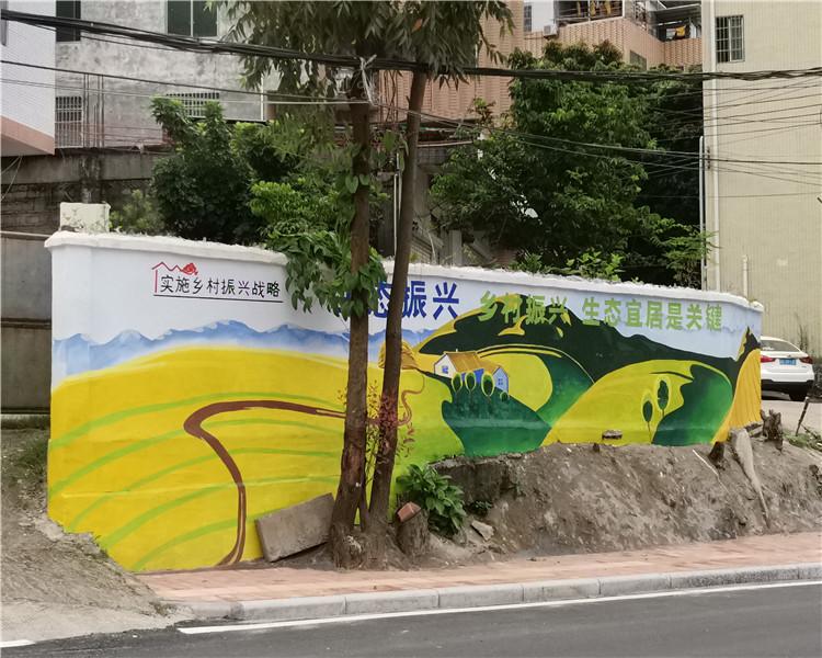 墙体彩绘为城市增色的重要性