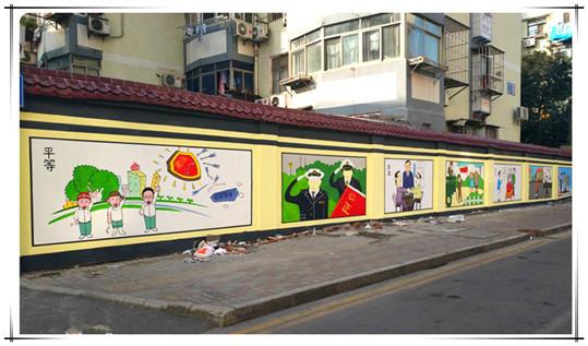 墙体彩绘按表现效果分类
