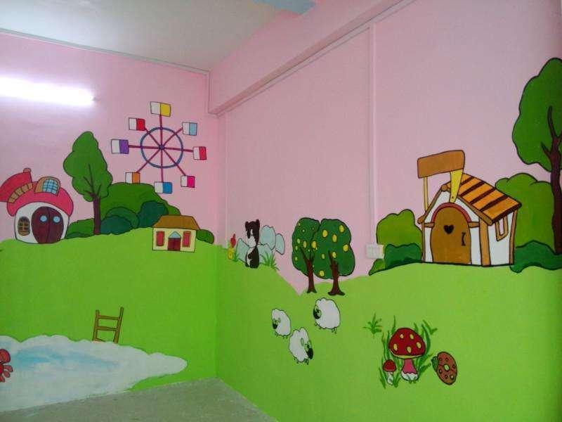 南昌幼儿园墙面涂鸦