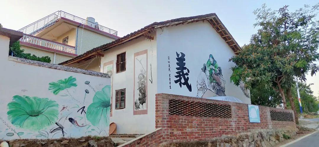 南昌新农村墙绘,南昌墙绘公司,南昌学校墙体绘画,南昌手绘涂鸦