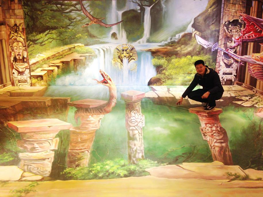 南昌墙体画,南昌墙绘3d画,南昌壁画公司,南昌画图公司,南昌彩绘文化墙