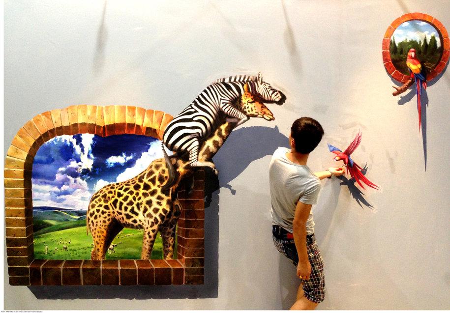 南昌地面彩绘,南昌3d立体画彩绘,南昌立体画彩绘,南昌手绘彩绘墙,南昌立体画