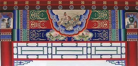 南昌涂鸦墙绘,南昌古建彩绘,南昌幼儿园手绘墙画